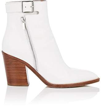 Derek Lam Women's Easton Leather Ankle Boots - White
