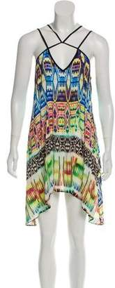 Milly Sleeveless Printed Mini Dress
