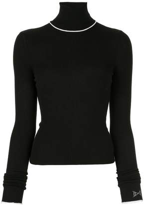 Barrie roll neck sweater