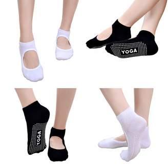 9dc9d83ab4d2 Free Bird 99 Women Low Rise Non-Slip Yoga Socks for Ballet