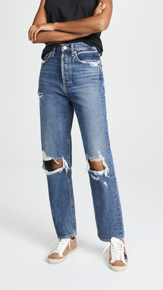 A Gold E Agolde '90s Jeans