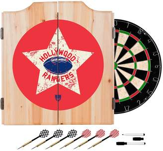 Kohl's Hollywood Rangers Wood Dart Cabinet Set