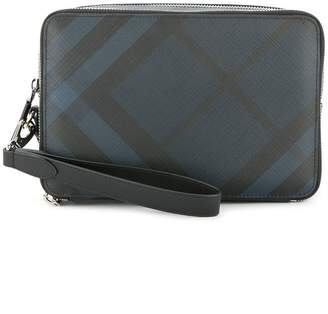 Burberry Check Pouch