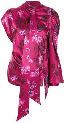 Balenciaga Mono Sleeve Top