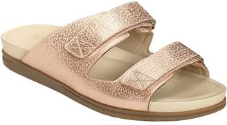 Aerosoles Two-Banded Slide Sandals - Happy Hour