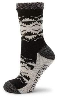 Sperry Patterned Knit Crew Sock