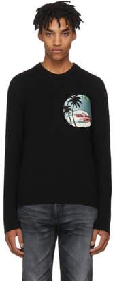 Saint Laurent Black Waiting For Sunset Sweater