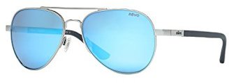 Revo Raconteur RE 1011 Polarized Aviator Sunglasses $229 thestylecure.com