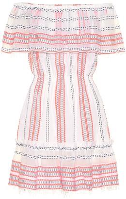 Lemlem Zenha cotton-blend minidress