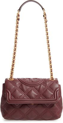 Tory Burch Small Fleming Soft Quilted Leather Crossbody Bag