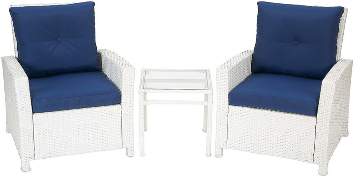 Bed Bath & Beyond Barrington 3 Piece Wicker Club Chair Set ShopStyle Home