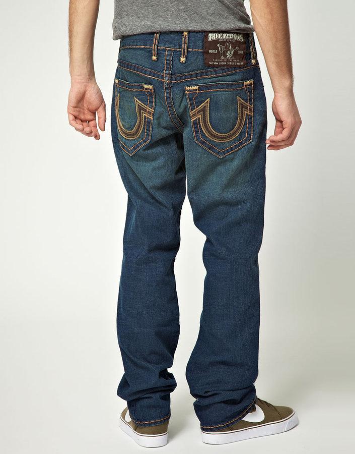 True Religion Straight Logan Super T Jeans