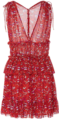 Ulla Johnson Noelle Printed Mini Dress $495 thestylecure.com