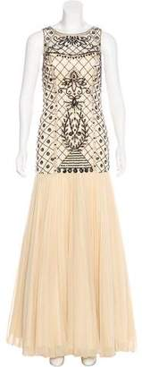 Sue Wong Embellished Evening Dress