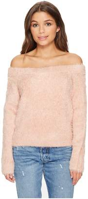 MinkPink Florentine Off-Shoulder Sweater Women's Sweater