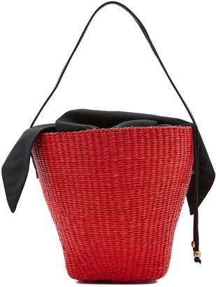 Sensi Studio Basket with leather handle