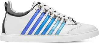 DSQUARED2 New 251 Stripes Leather Sneakers
