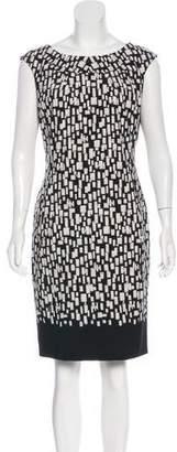 Calvin Klein Sleeveless Printed Dress