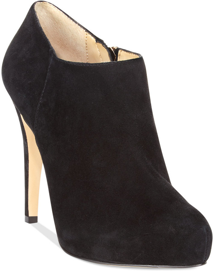 INC International Concepts Bellona Platform Booties
