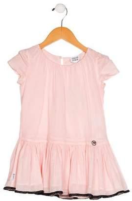 Armani Junior Girls' Pleated Dress w/ Tags