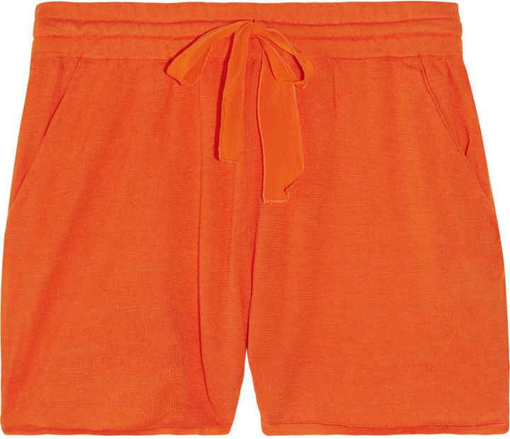 3.1 Phillip Lim Drawstring cotton shorts