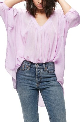Women's Free People Catch Me If You Can Tee $88 thestylecure.com