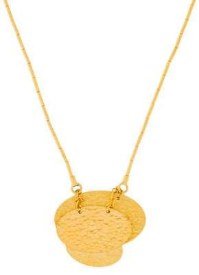 Gurhan 24K Small Layered Mango Pendant Necklace