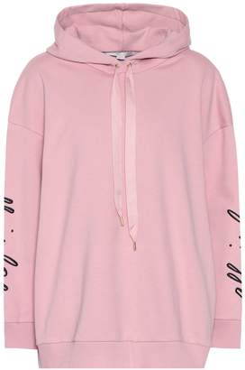 Stella McCartney Printed cotton hoodie