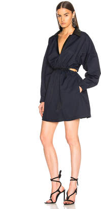 Stella McCartney Myla Cutout Cinched Waist Mini Dress