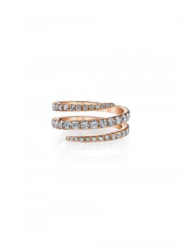 Anita KoAnita Ko Diamond Pinky Coil Ring