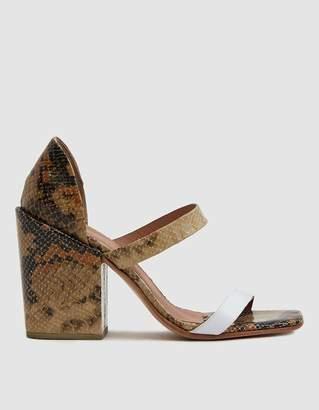 Rachel Comey Lico Snake-Embossed Sandal