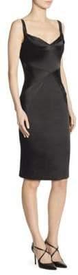 Zac Posen Stretch Satin Dress