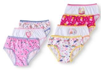 Peppa Pig Peppa Pig, Girls Underwear, 7 Pack Panties (Little Girls & Big Girls), Size 4