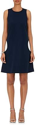 Lisa Perry Women's Circular-Pocket Ponte Shift Dress - Navy