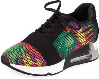 Ash Lacey Bis Multicolor Knit Sneaker