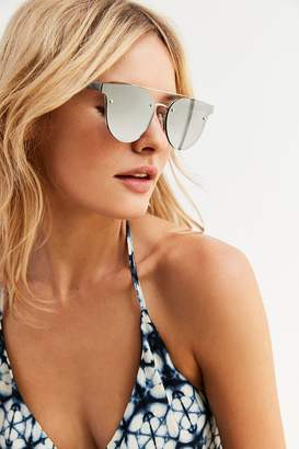 Urban Outfitters Rimless Brow Bar Sunglasses $18 thestylecure.com