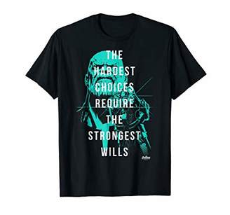 Marvel Infinity War Thanos Strongest Wills Graphic T-Shirt