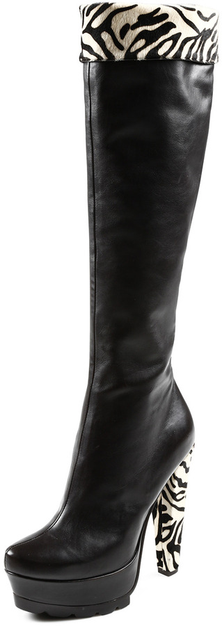 Gode Leather Knee High Boot