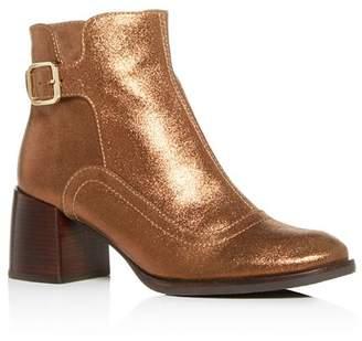 Chie Mihara Women's Or-Omayo Block-Heel Booties