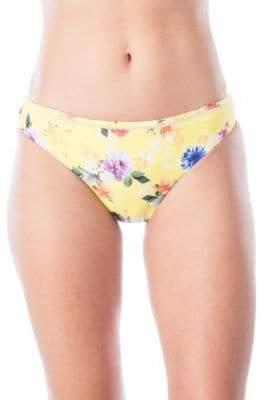 Nanette Lepore Charmer Floral Bikini Bottoms