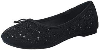 Josmo Girls Ballerina Flats with Studs and Little Stones Ballet