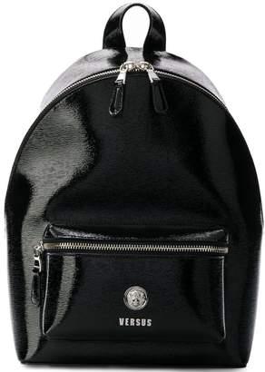 Versus lion head-detail backpack