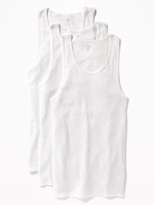 Old Navy Rib-Knit Tank 3-Pack for Men