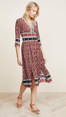 Sea Tallulah Slit Midi Dress