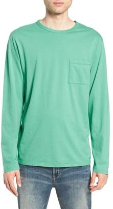 Saturdays NYC James Pima Long Sleeve Pocket T-Shirt