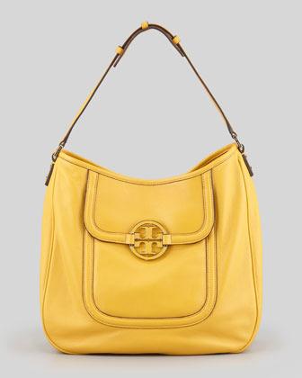 Tory Burch Amanda Slouchy Hobo Bag, Yellow