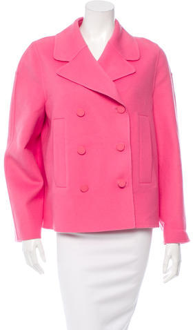 ValentinoValentino Wool Double-Breasted Coat w/ Tags