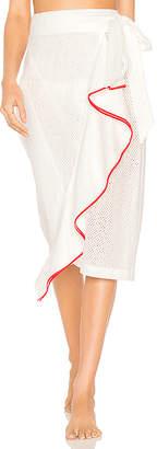 Marysia Swim Seahaven Piping Skirt