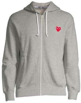Comme des Garcons Play Heart Hoodie