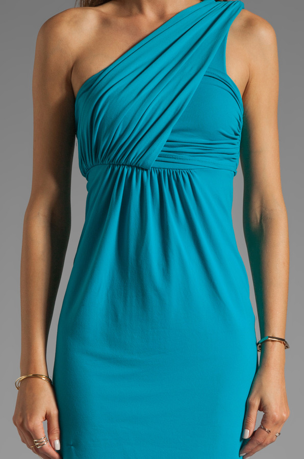 Susana Monaco Light Supplex Carrie One Shoulder Dress
